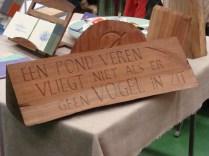 Houten letters - Wooden letters