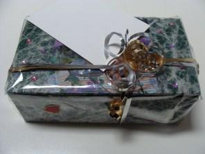 Het kadootje met enveloppe - The gift with envelope