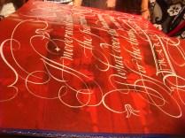 Een bladzijde in kalligrafie! A page! in calligraphy