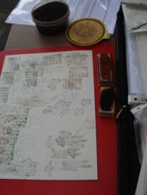 Inkt en stempels - Ink and stamps