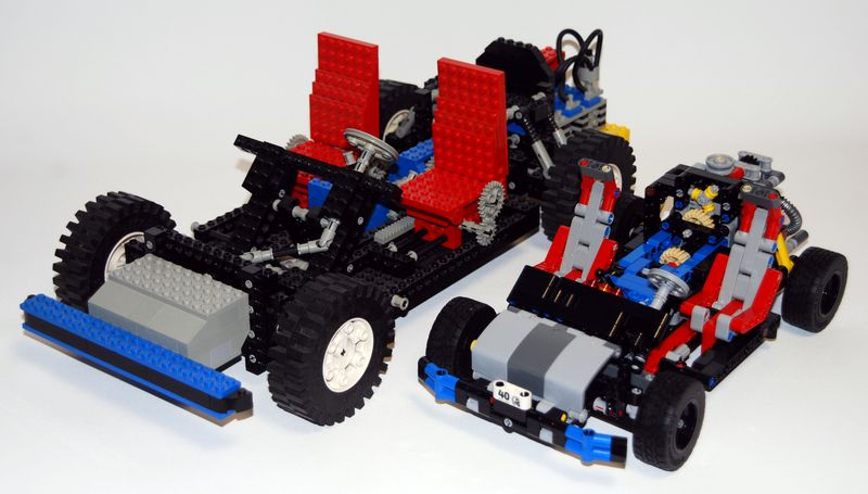 autotest lego technic chassis 40years von 2017 gegen lego. Black Bedroom Furniture Sets. Home Design Ideas