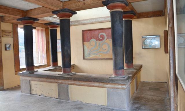 Frescoes room