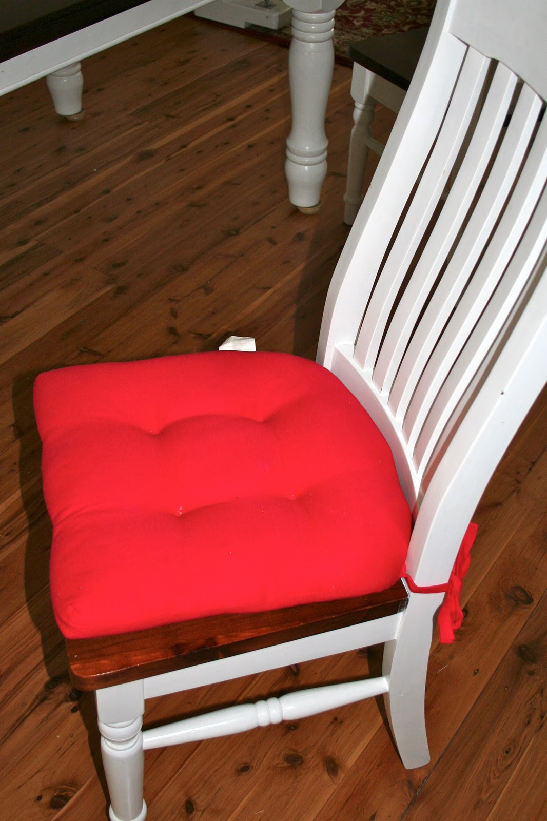 chair cushions with tie backs seat covers for dining room vintage cafe drop cloth back knot all