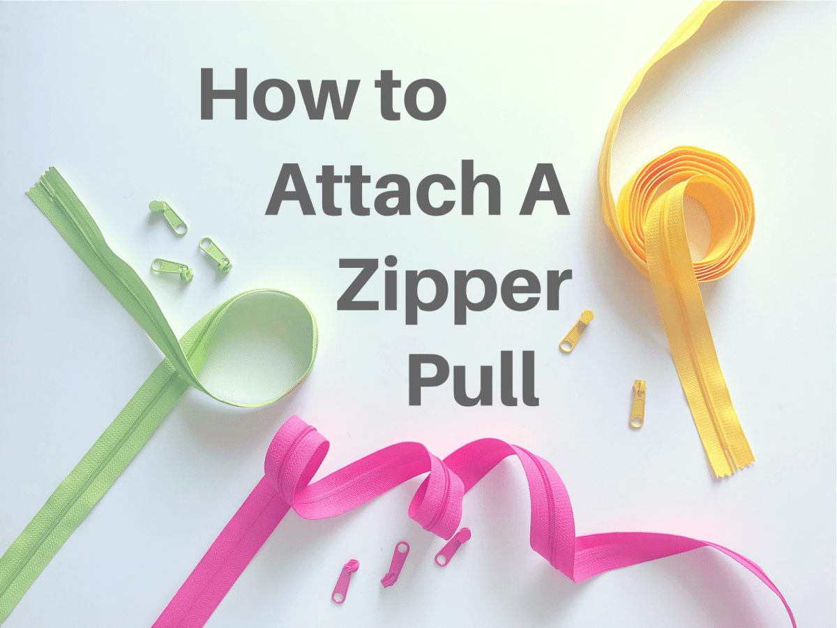How to Attach A Zipper Pull