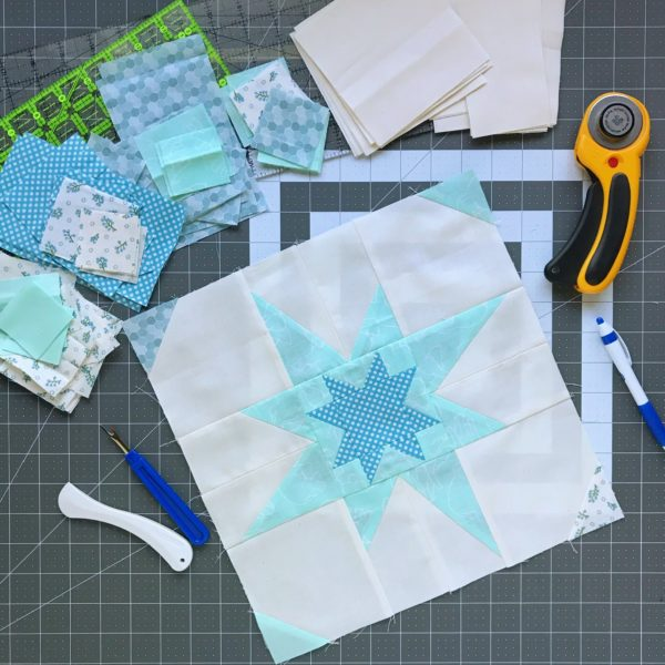 Second Star Quilt Pattern Knot And Thread Design