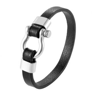 Mens Shackle Bracelet