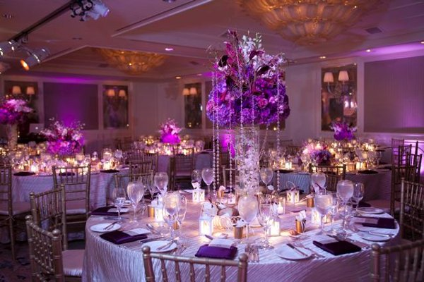 Inspiration How To Make Purple Work In Your Wedding