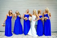 Throw a Proper Summer Wedding with Yellow and Royal Blue ...
