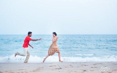 Saketh & Sri Lakshmi : Pre Wedding Shoot in Vizag