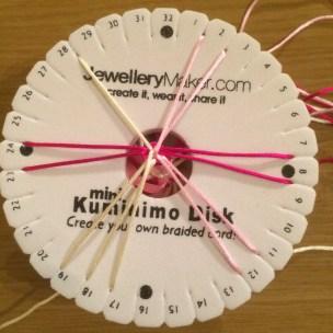 spiral kumihimo DIY