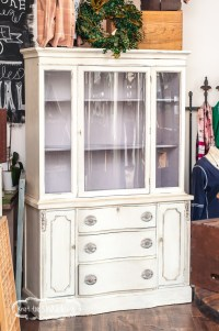Antique White China Cabinets