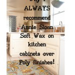 Why Would I Use Annie Sloan Paint On My Kitchen Cabinets Knot Too Shabby Furnishings