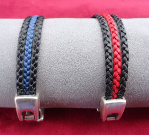 Thin Line Bracelet can be create in colours and colour combinations of your choice.