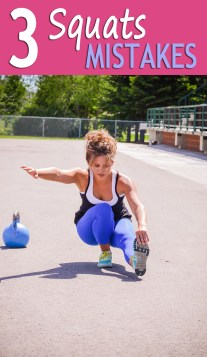 3 Squats Mistakes