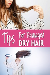Tips For Damaged, Dry Hair