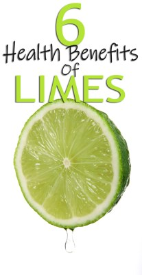 6 Health Benefits Of Limes