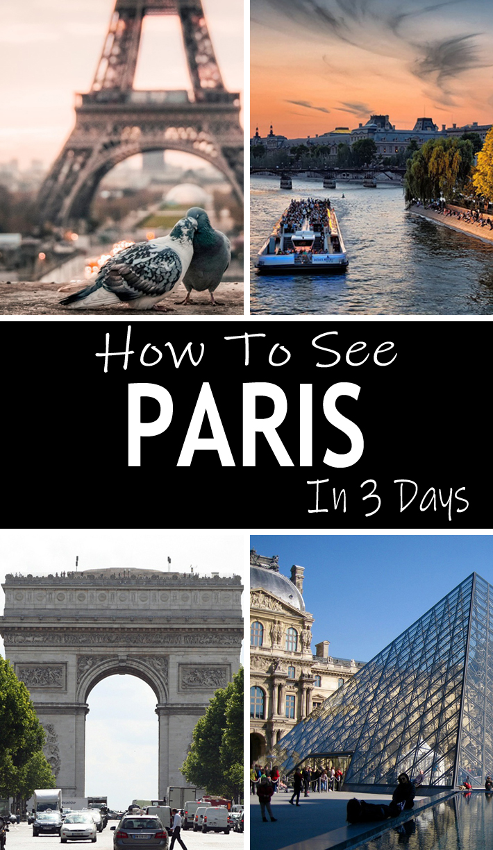 How To See Paris In 3 Days