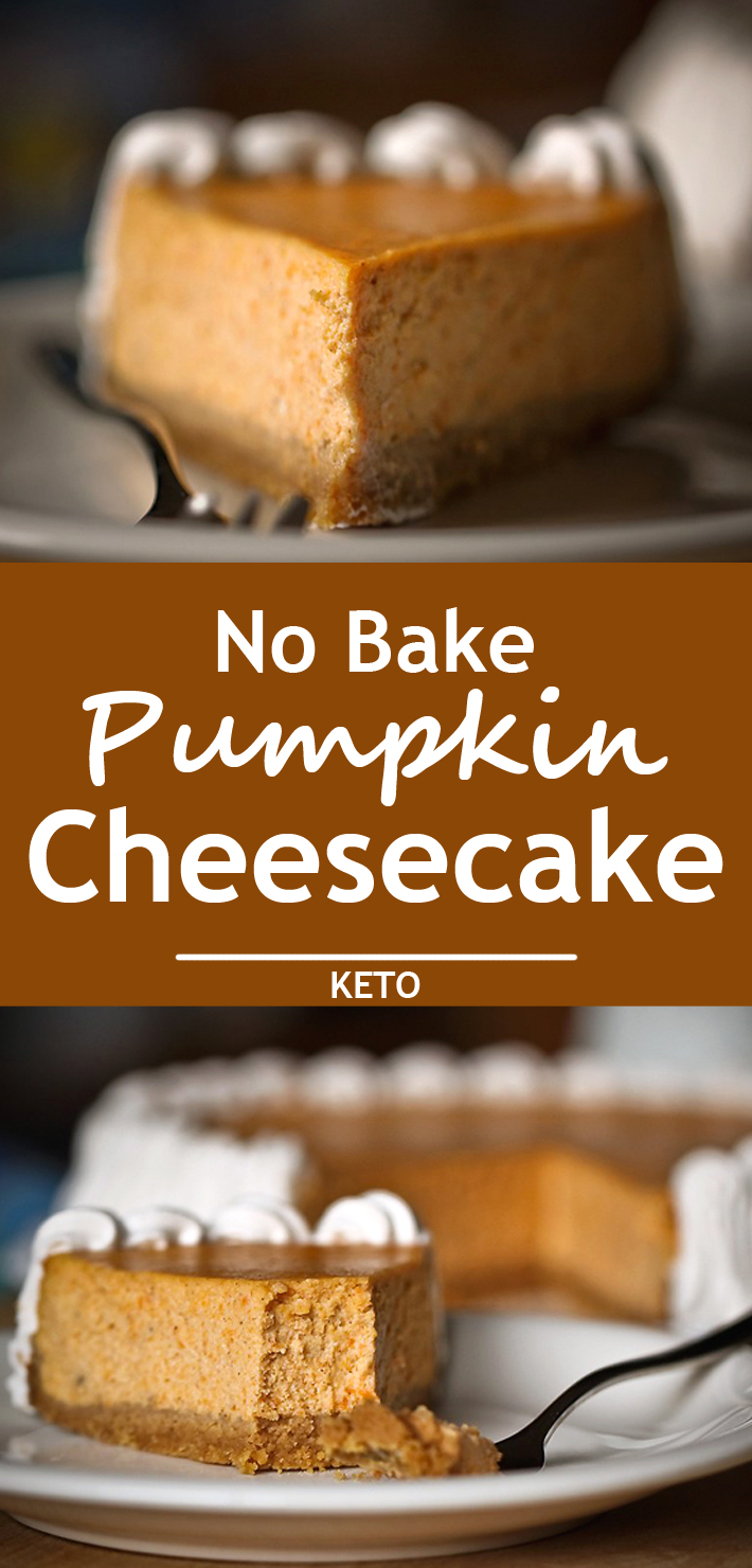 No Bake Pumpkin Cheesecake - Know 2 How