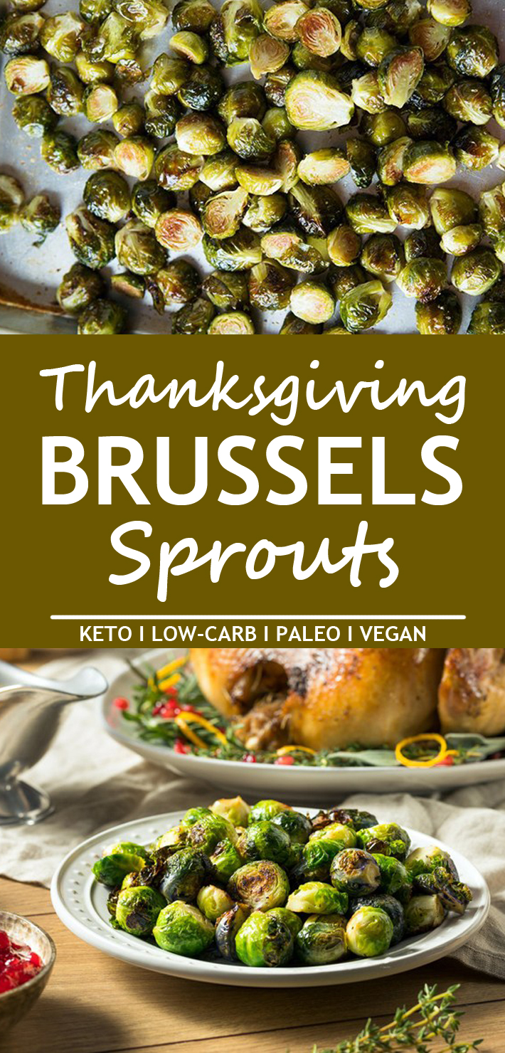 Keto Thanksgiving Brussels Sprouts
