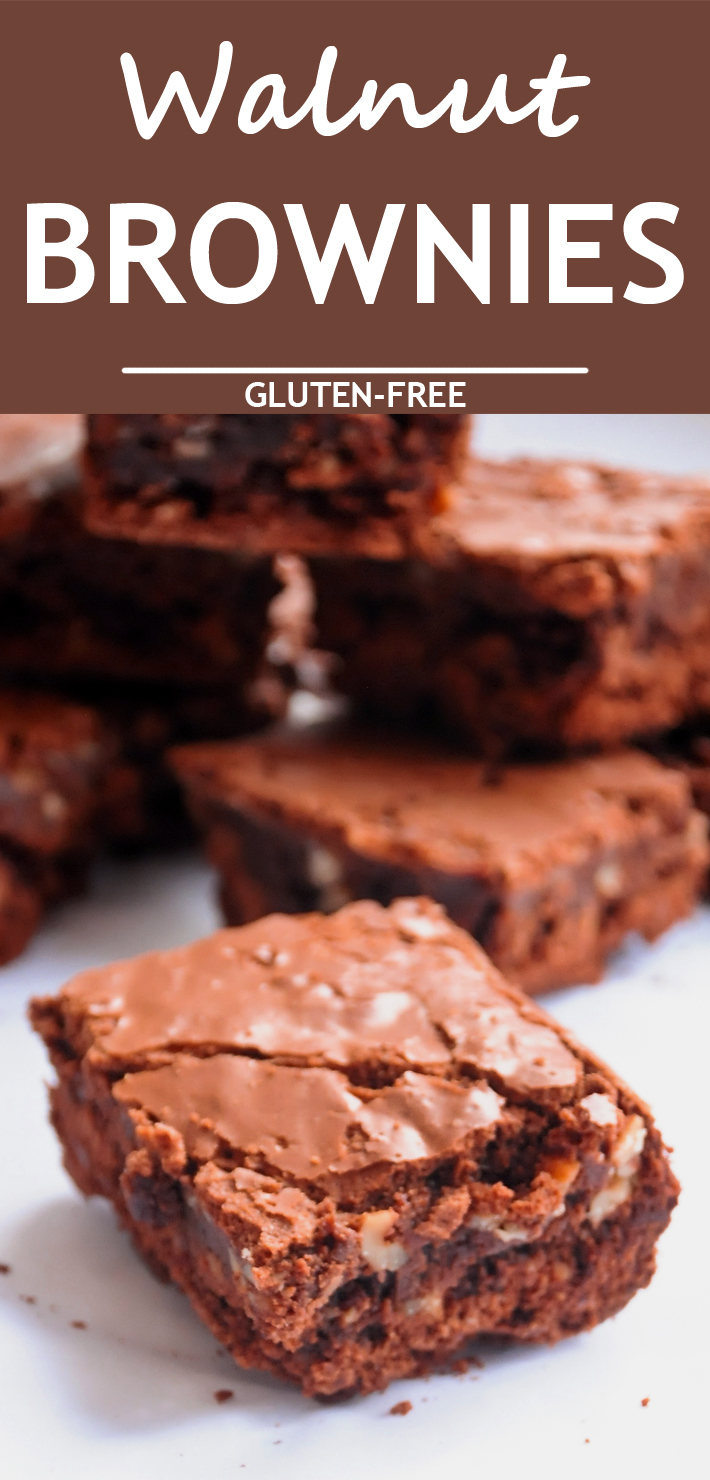 Fudge Walnut Brownies - Know 2 How