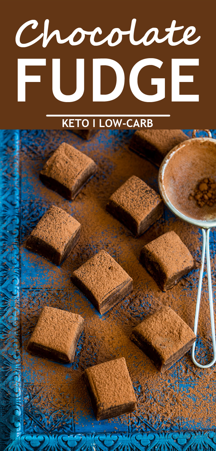Keto Chocolate Fudge