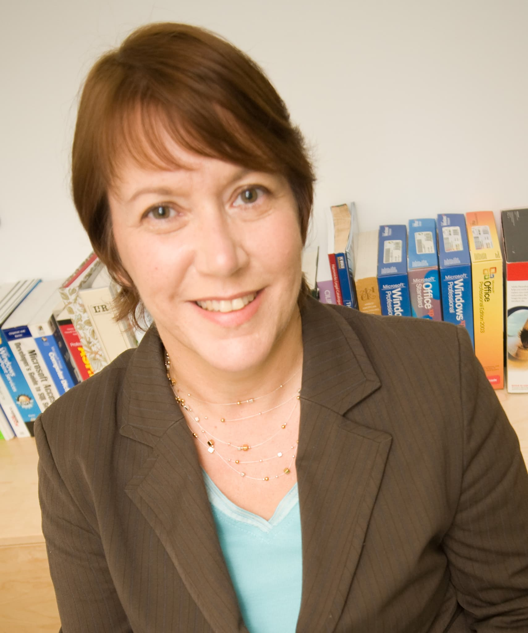 Library Consultant Penny Bailey