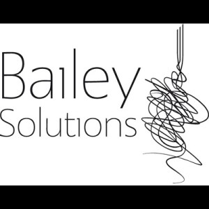 Bailey Solutions black and white square logo