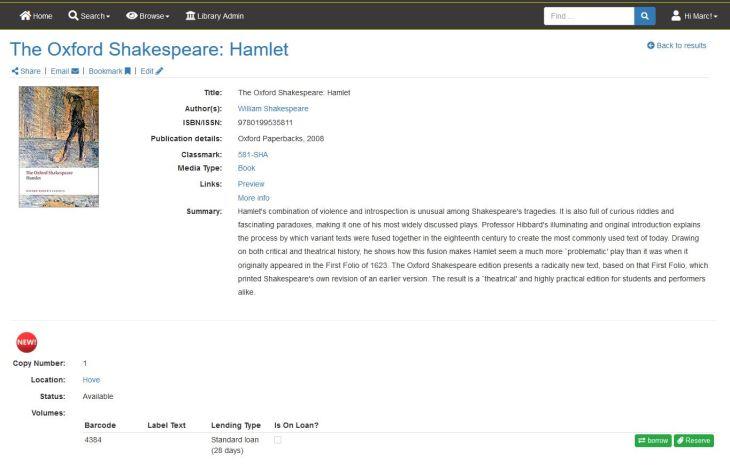 Title in KnowAll Matrix catalog