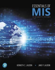 Essentials Of Management Information Systems 13th Edition PDF