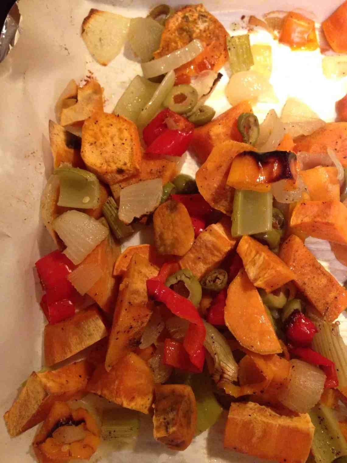 Roasted Winter Vegetables, Vegan, Gluten-Free