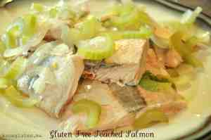gluten free poached salmon from know gluten