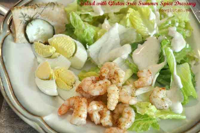 Summer Spice Salad Dressing