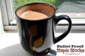 bullet proof maple mocha from knowgluten.me