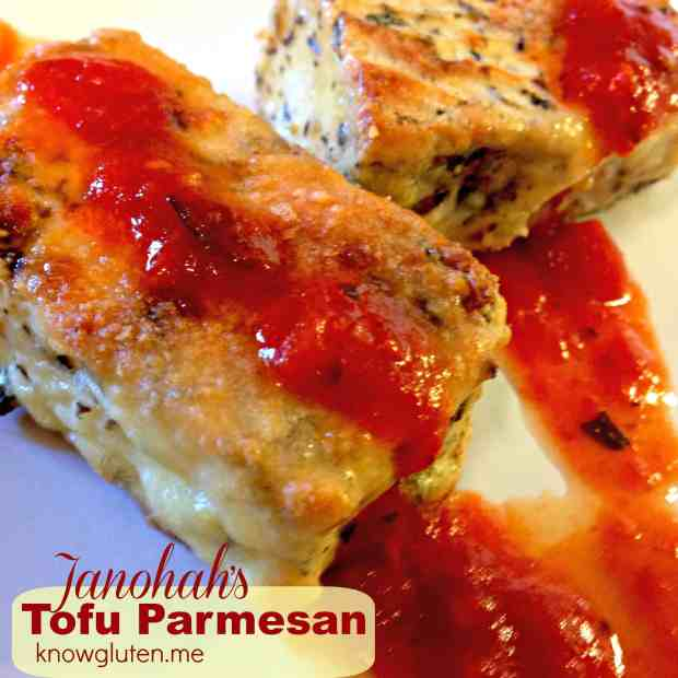 Janohah's Tofu Parmesan from knowgluten.me