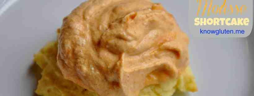 Gluten Free Pumpkin Mousse Shortcake from knowgluten.me