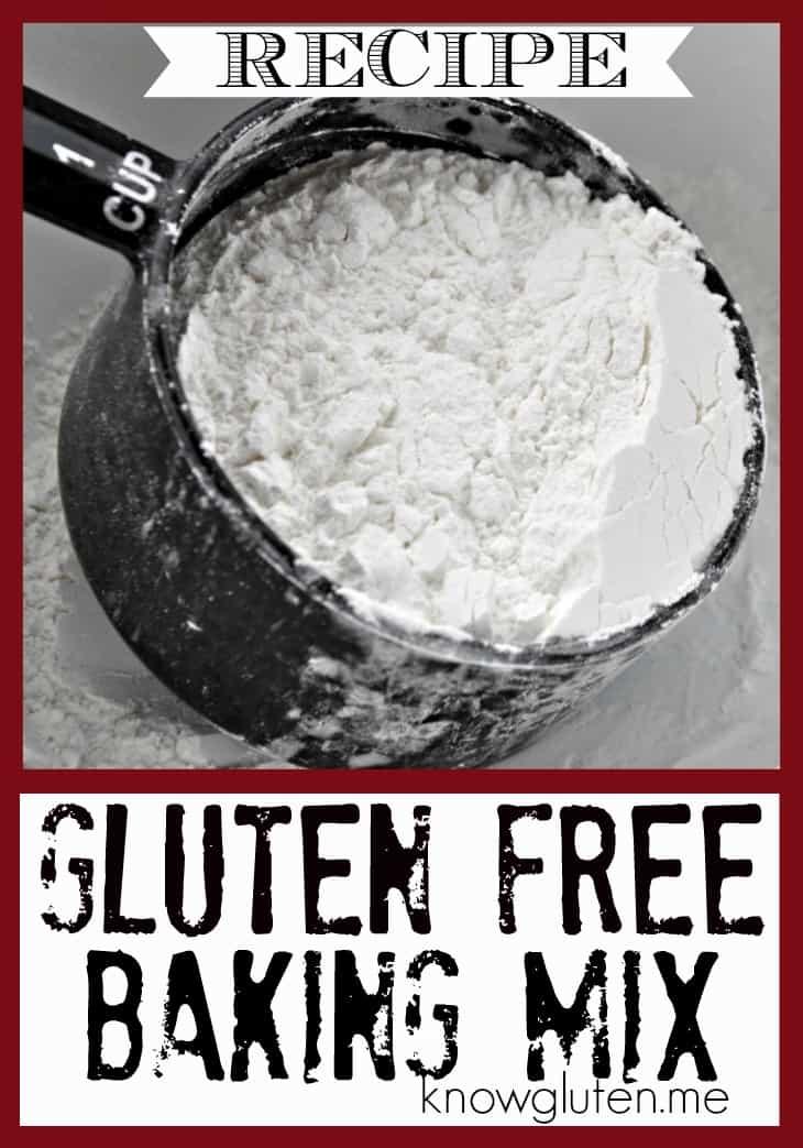 Gluten Free Baking Mix Recipe from knowgluten.me