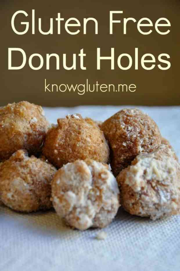 Gluten Free Donut Holes from knowgluten.me