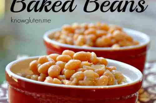 Gluten Free Baked Beans in the Crock-Pot from knowgluten.me