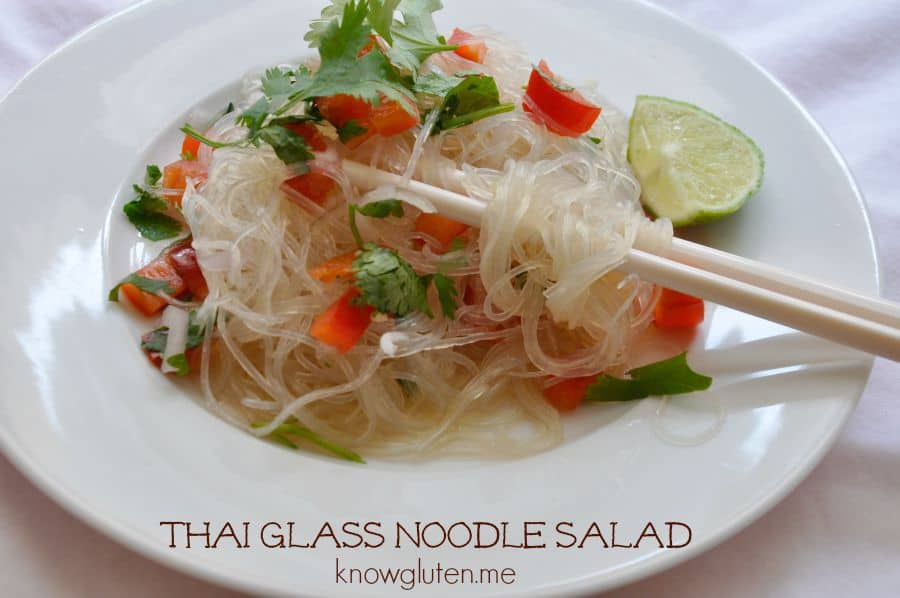Gluten Free Thai Glass Noodle Salad