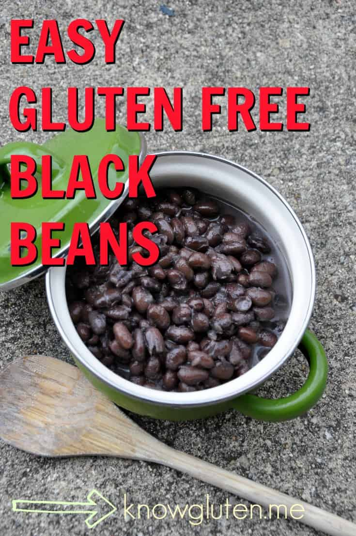 Easy Gluten Free Black Beans