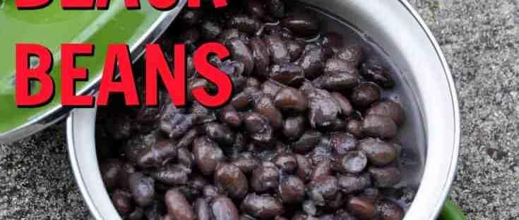 Easy Gluten Free Black Beans - know gluten