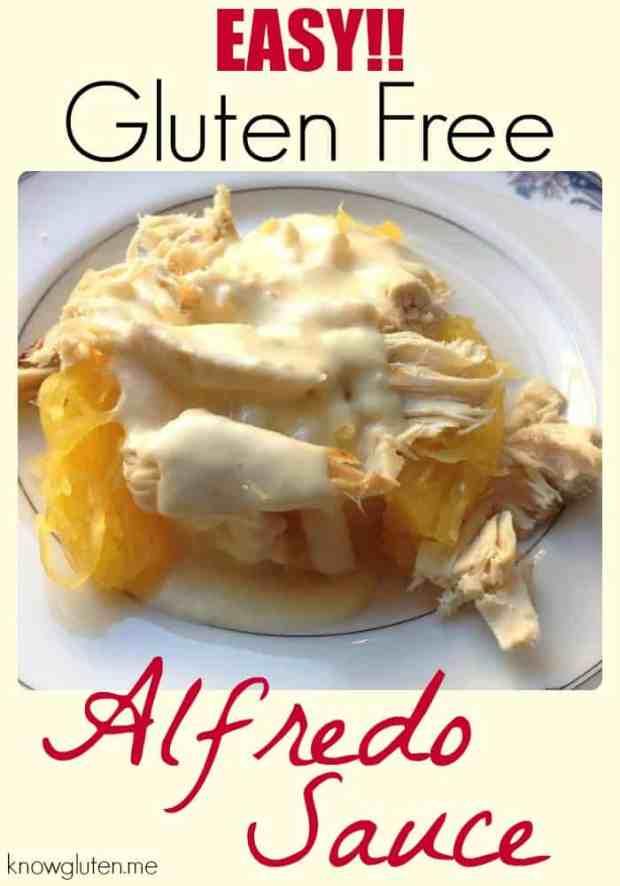 Easy! Gluten Free, Grain Free, Low Carb, Keto Alfredo Sauce from knowgluten.me