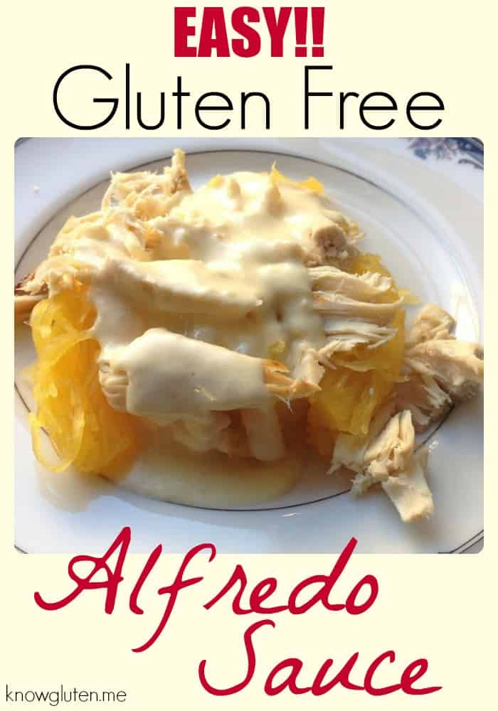 Easy! Gluten Free, Grain Free, Low Carb, Keto Alfredo Sauce from knowgluten.me