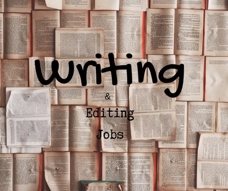 Writing Jobs & Editing Jobs