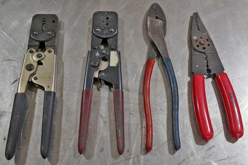 Assorted Hand Tools For Wiring Are Critical To Getting The Job Done
