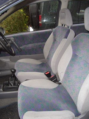 Burn Hole In Car Seat : Repair, Cloth, Seats