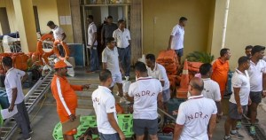 NDRF Team for Cyclone Fani, Odisha