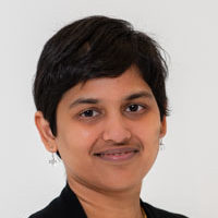 Rajamani Selvam, a graduate student at UConn Health, on April 3, 2018. (Kristin Wallace/UConn Health photo).