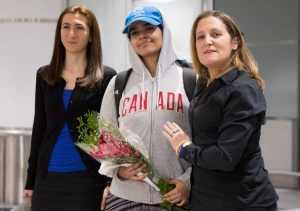 Saudi to Canada