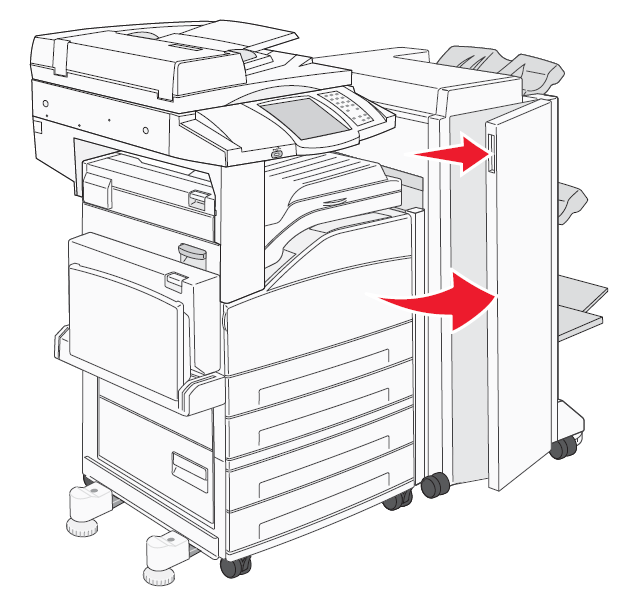 How to replace Ricoh finishing staples